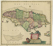 Antique Print-jamaica-caribbean-visscher-c. 1700
