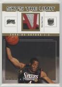 2004 Skybox Le Skyand039s The Limit Non-numbered Andre Iguodala Sl-ai2 Rookie Patch