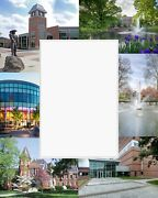 University Graduation Gift Photo Mat Personalized College Campus Pictures Custom