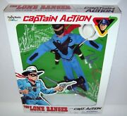 Captain Action The Lone Ranger Uniform And Equipment Only Playing Mantis 2000 Nib