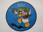 Ww 2  Donald Duck Fantasy Nose Art Leather Jacket Patch