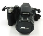 Nikon Coolpix P90 12.1mp Digital Camera 2 New Batteries And Charger W/ 4gb Sd Card