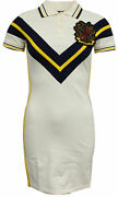 X Rihanna Fenty Womens Varsity Polo Tennis Dress Vanilla 575729 01 M1
