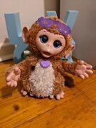 Furreal Friends Baby Cuddles My Giggling Monkey Interactive Toy Works 2013
