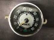 Vw Aircooled Beetle Speedo Without Fuel Gauge 62-67 Manuf. Date 5-65 3