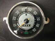 Vw Aircooled Beetle Speedo Without Fuel Gauge 62-67 Manuf. Date 4-65 1