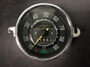 Vw Aircooled Beetle Speedo Without Fuel Gauge 68 Only Manuf. Date 10-67