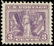 1919 3 Cent Victory Issue Commemorative Postage Stamp Mint Nh Scott 537