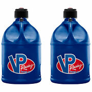 Vp Racing Motorsport 5 Gallon Round Plastic Container Utility Jug Can 2 Pack