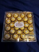 Ferrero Rocher Fine Hazelnut Chocolates In Gift Case 24 Count And 10.6 Oz 6
