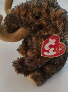 Ty Giganto The Wooly Mammoth Beanie Baby 2000