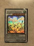 Yugioh Stardust Dragon - Ghost Rare - Tdgs-en040 - Unlimited Edition Used Rare