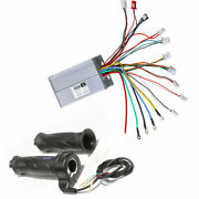 48v 1800w Electric Bicycle Scooter Motor Brushless Dc Speed Controller + Grips