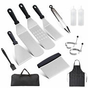 12pcs Blackstone Griddle Accessories Kit Grilling Bbq Outdoor, Barbecue Tool Set