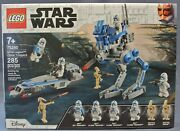 Lego 75280 Star Wars 501st Legion Clone Troopers Battle Droids Pack 2020 New