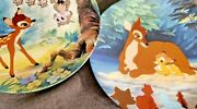 Knowles Walt Disney Collector Plates- Bambi Complete Set Of 6 W/coa
