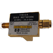 Used And Tested Hp 11612a Rf Coaxial Bias Network Tee 45mhz-26.5ghz
