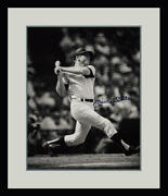 Mickey Mantle Signed 16x20 Auto Action Shot Photo, Limited Edition Of 536. Psa