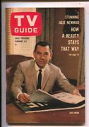 Tv Guide 2/2/1963-jack Webb Cover-illinois-no Label-news Stand Copy-vf