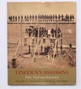 Lincoln's Assassins Their Trial And Execution Swanson And Weinberg Signed 1ed Hc