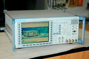 Rohde And Schwarz Cmu200 Radio Communication Tester To 27ghz