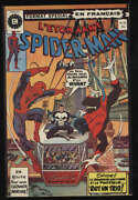 Amazing Spider-man 162 French Canadian Fine/vf 7.5 W Pgs 1st Jigsaw Foreign