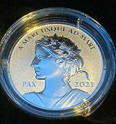 Pure Silver Coin - Peace Dollar - Mintage 5000 2021