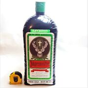 Vintage Jagermeister Store Display Inflatable Double-sided Bottle 2' Barware Htf