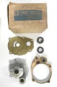 New Oem 381284 Johnson Evinrude Vintage Omc Impeller Housing Plate And Grommet Ay