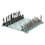 915436 Royal Selangor Star Wars Collection Pewter Classic Chess Set