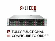 Hp Dl180 Gen9 8 Lff Server 1x E5-2640 V3 256gb Ddr4 Ram 4x 1tb Sata 3.5in Hdd