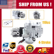 110cc 4-stroke Engine Motor Auto Trans Electric Start For Atvs Go Karts 8000rpm