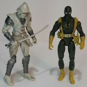 Marvel Universe White Hand/agent Of Hydra 3.75 Loose Figure Lot Of 2 With Sword