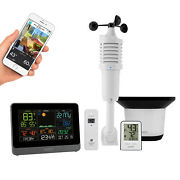 328-10618 La Crosse Technology Wifi Accuweather Weather Station With Wind And Rain