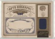 2011 Playoff Prime Cuts Biography Materials /10 Charlie Gehringer 13 Auto Hof