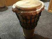 Vintage West Cliff Percussion Stave Hand Drum 12x24