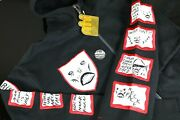Neck Face X Maharishi Zip Patch Sweater Limited Edition 50 Black Size Xl