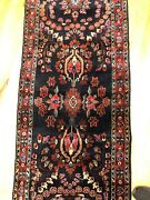 2and0397 X 9and0399ft Saroukh Runner Handmade Woven Genuine Antique Rug