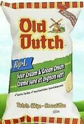 Old Dutch 40 Pack Sour Cream And Green Onion 40g /1.4oz Per Pack {canadian}