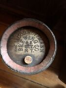 Very Rare Jacob Hoffmann Brewing Co. Barrel Pick Up Only