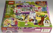 Lego Friends 41332 Emmaand039s Art Stand Chico Cat Scooter Easel