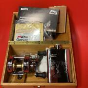 Abu Garcia 1500ca Limited Reel And Skittles Set Wooden Boxes New Tracking