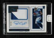 2019 Panini One Premium Blue /49 Parris Campbell 123 Rpa Rookie Patch Auto