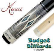 Exclusive Model Meucci Gem-4 Pool Cue With Black Dot Shaft 003/250