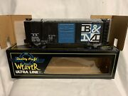 ✅weaver Boston And Maine Ps-1 40' Box Car W/ Lionel Type Couplers O Scale Train
