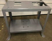 """Vintage Delta Millwakee 8"""" Table Saw/4"""" Jointer Combo Splayed Leg Stand"""