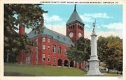 Cameron County Court House And Soldiers Monument Emporium Pa Shicksand039s