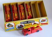 Mettoy Toys Mettoy Motors Plastic Austin Fire Engine X 5 And Trade Display