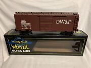 ✅weaver Duluth Winnipeg And Pacific Ps-1 40andrsquo Box Car W/ Lionel Type Couplers Dwandp