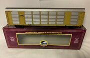 ✅mth Premier Csx Corrugated Auto Carrier 20-95151 O Scale Screened Rack Ttx